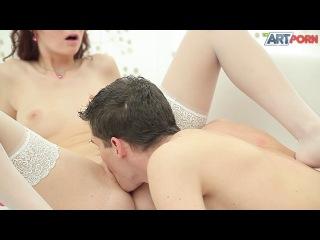 Похотливый секс с чешской рыжей красоткой Kattie Gold