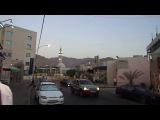 г. Акаба (Иордания), муэдзин созывает на вечерний намаз